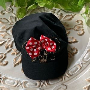 Minnie Mouse Girl's Newsboy Cap One Size OS